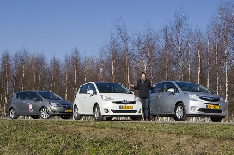 Opel Meriva 1.4 - Subaru Trezia 1.3 - Toyota Verso S 1.3 VVT-I Dynamic
