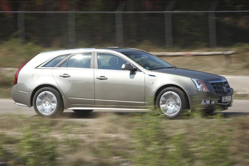 Rij-impressie Cadillac CTS Wagon