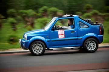 Win een vakantiekar: Suzuki Jimny