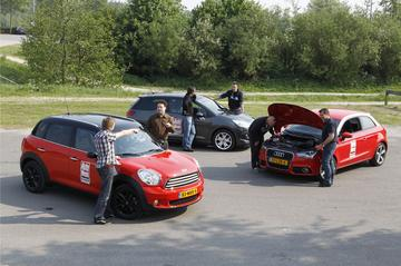 Audi A1, Citroën DS3, Mini Countryman