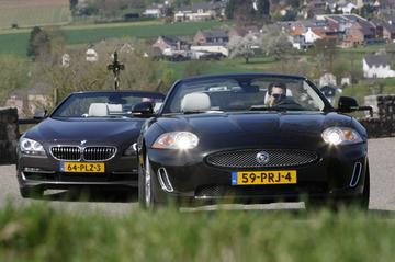 BMW 650i Cabriolet - Jaguar XK V8 Cabriolet
