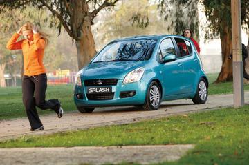 Suzuki Splash nu ook belastingvrij