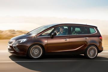 Alle prijzen van de Opel Zafira Tourer