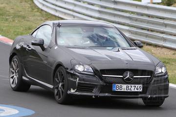 Meer details Mercedes SLK 55 AMG én diesel-SLK