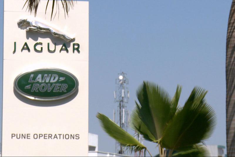Jaguar-Land Rover assemblagefabriek in Pune, India