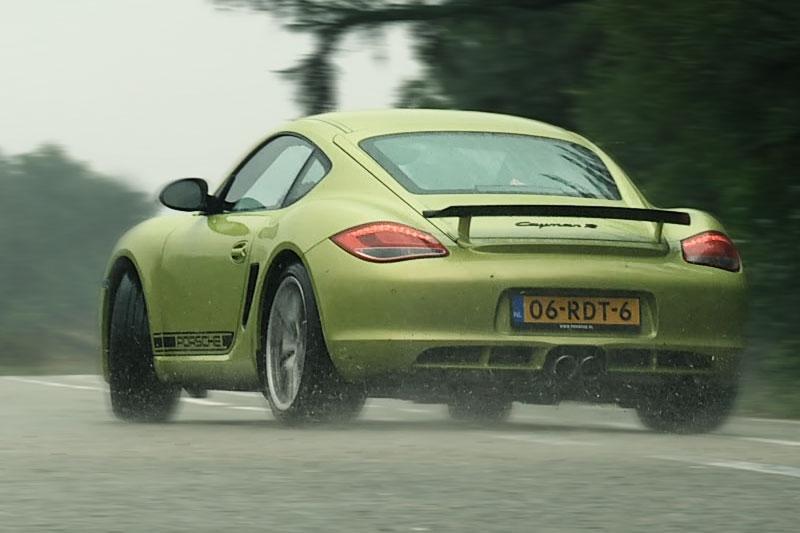 Rij-impressie Porsche Cayman R