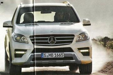 Enthousiasteling scant brochure Mercedes M-klasse