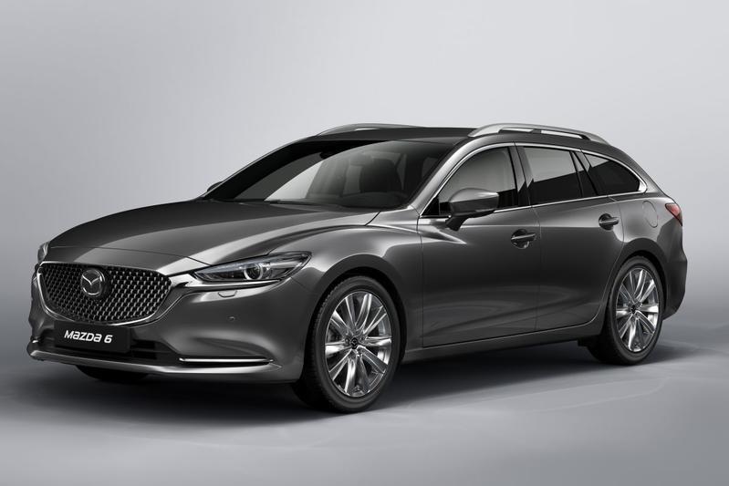 Vernieuwde Mazda 6 Sportbreak naar Genève