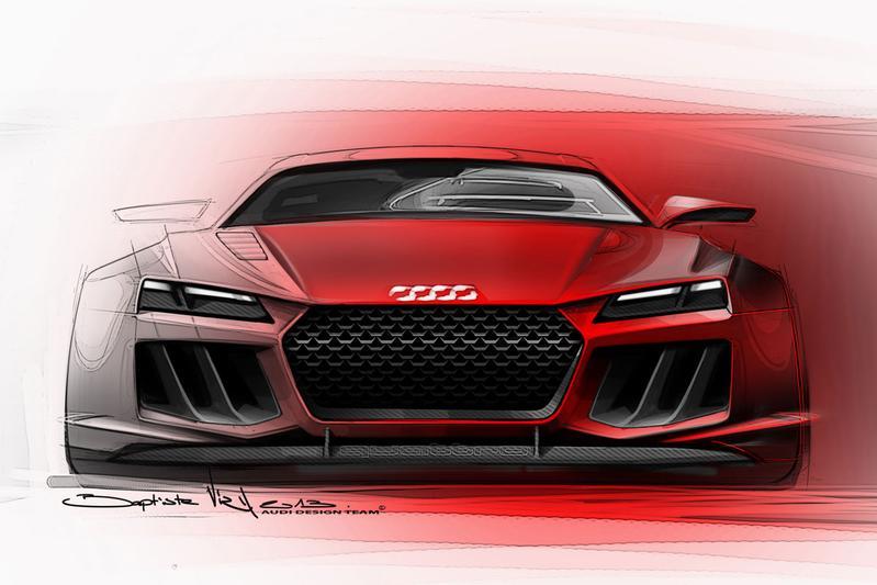 Voorproefje van de Audi Quattro