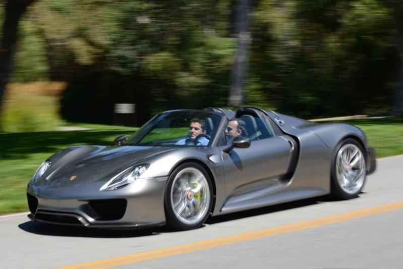 Definitieve versie Porsche 918 Spyder