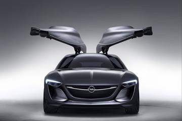 Opel Monza Concept slaat z'n vleugels uit