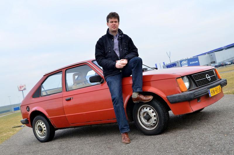 Op de rollenbank - Opel Kadett