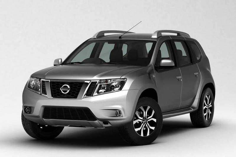 Nissan Terrano is verbouwde Dacia  Duster