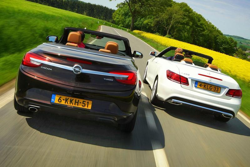 Dubbeltest - Mercedes E-klasse vs. Opel Cascada