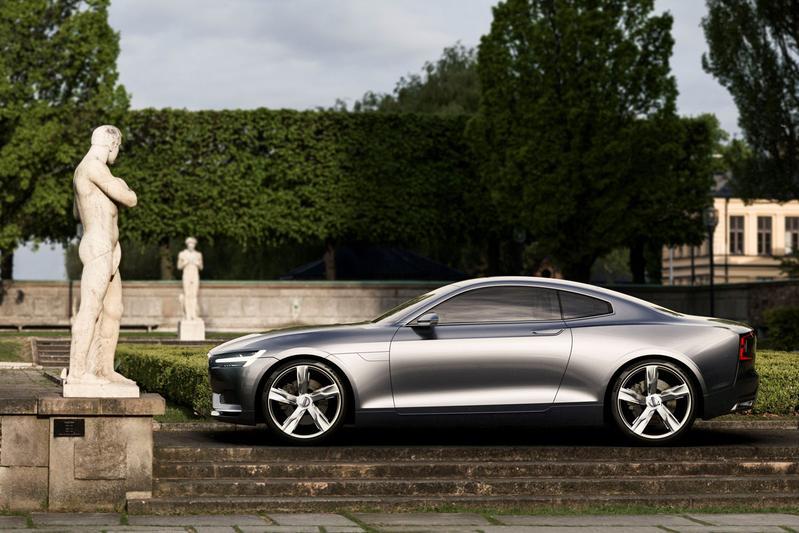 'Volvo coupé of cabrio pas na volumemodellen'