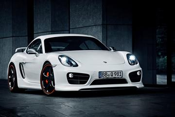 TechArt vergrijpt zich aan Porsche Cayman