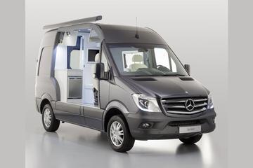 Mercedes bouwt Sprinter om naar camper