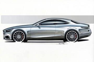 Mercedes neemt voorschot op S-klasse Coupé