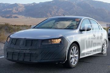 Volkswagen test gefacelifte Jetta in VS