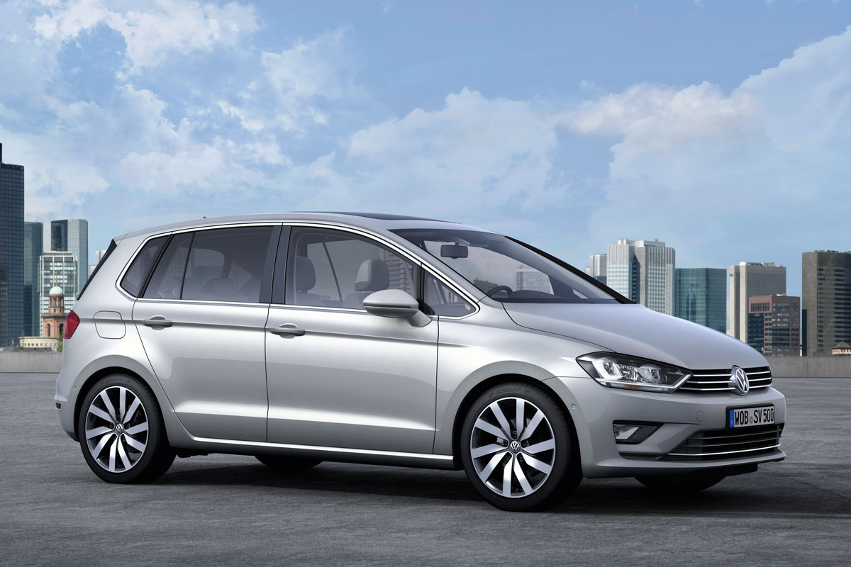 volkswagen sportsvan is nieuwe golf plus autonieuws. Black Bedroom Furniture Sets. Home Design Ideas