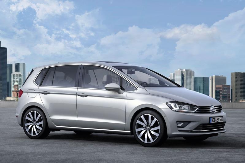 Nieuwe motoren voor Volkswagen Golf Sportsvan
