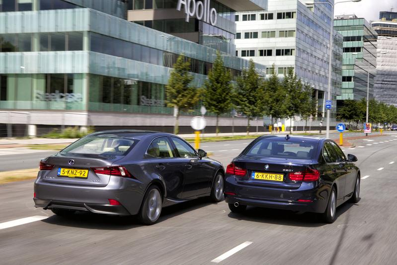 Lexus IS 300h - BMW 320i EDE