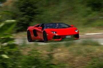 Rij-impressie Lamborghini Aventador Roadster