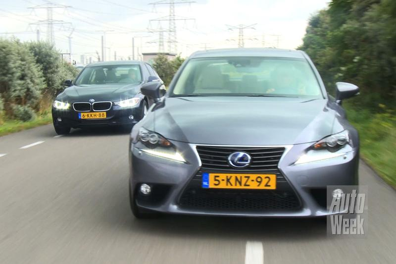 Dubbeltest - BMW 320 EDE vs. Lexus IS 300h