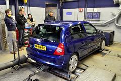 Op de rollenbank - Renault Clio 2.0 Sport