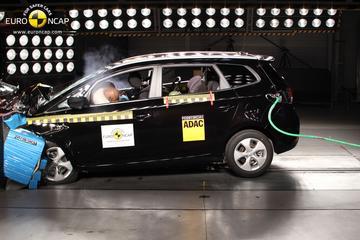 Kia Carens sleept vijf EuroNCAP-sterren binnen