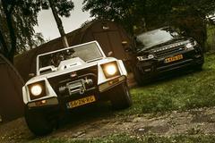 Lamborghini LM002 vs. Range Rover Sport Supercharged