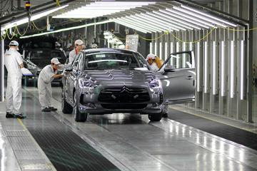 Citroën DS5-productie op gang in China