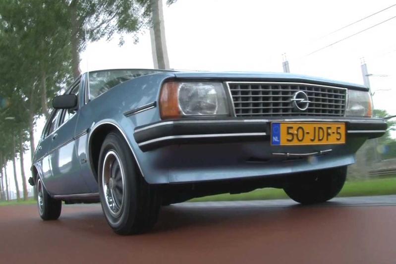 Geschiedenisles - Opel Ascona