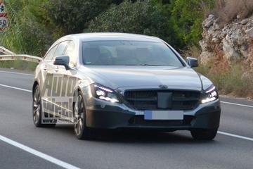 Facelift voor Mercedes CLS Shooting Brake