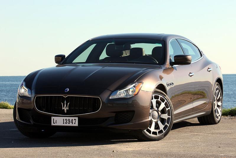 Maserati Quattroporte Diesel V6 (2014)