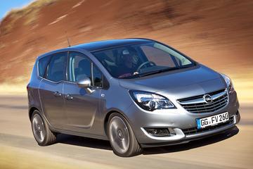 Opel geeft Meriva kleine opfrisbeurt