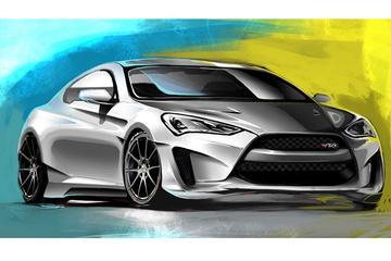 Hyundai Legato Concept: Genesis met SEMA-spieren