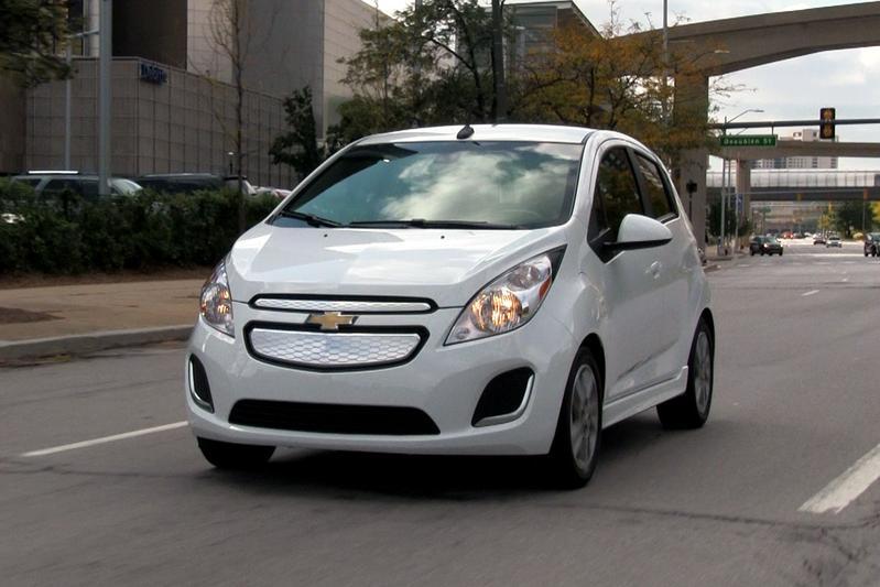 Rij-impressie Detroit: Chevrolet Spark EV