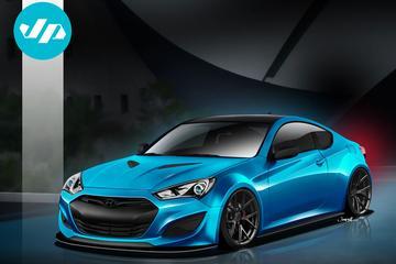 En dat is vier: Hyundai JP Edition Genesis