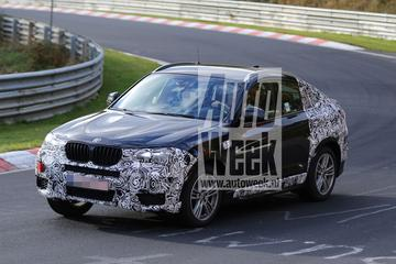 BMW X4 verliest weer camouflage
