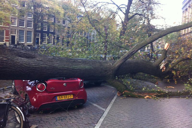 Stormschade 28 oktober 2013