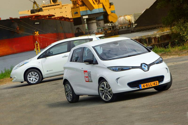 Nissan Leaf - Renault Zoe