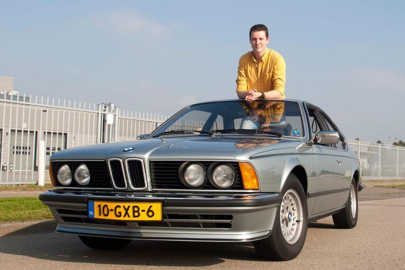 Op de rollenbank - BMW 628 CSi