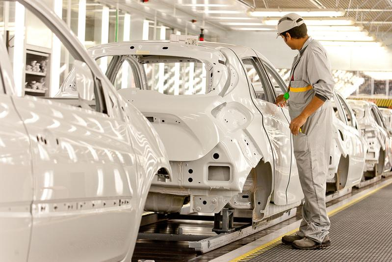 Renault Zoe productie