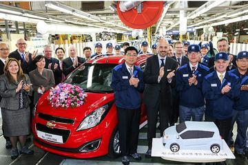 Chevrolet bouwt miljoenste Spark