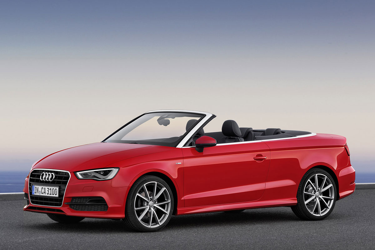 audi hangt prijskaartjes aan a3 cabrio autonieuws. Black Bedroom Furniture Sets. Home Design Ideas