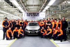 Volvo S60 met maatje meer in China