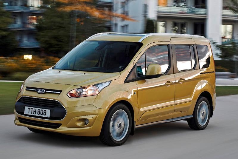 Nieuwe motoren voor Ford Tourneo Connect
