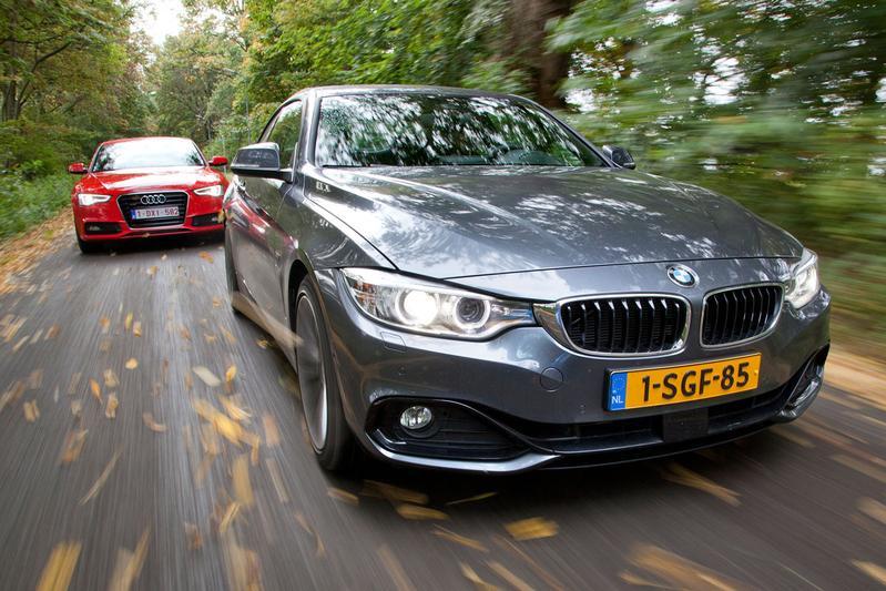Dubbeltest - BMW 428i vs. Audi A5 2.0 TFSI