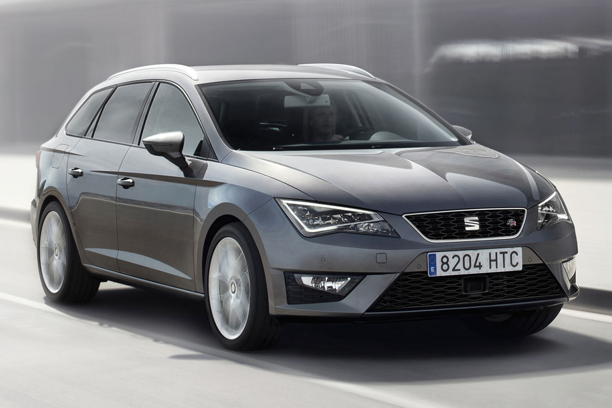 seat leon st 1 4 tsi fr 2014 autotest. Black Bedroom Furniture Sets. Home Design Ideas